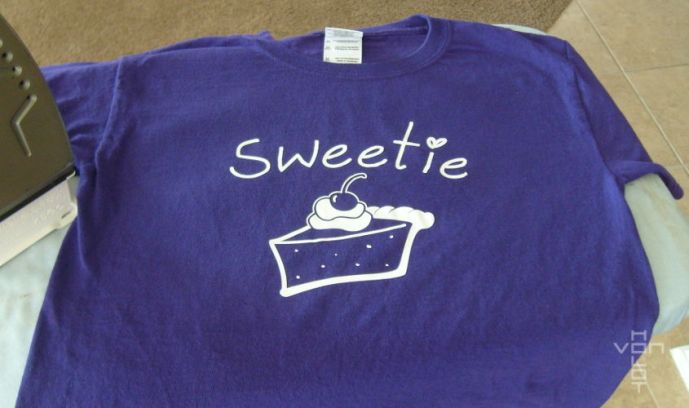 sweetie pie shirt