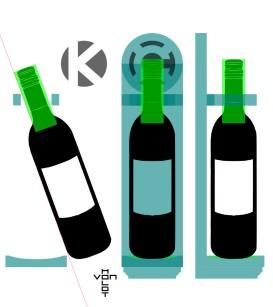 wine sconce plans